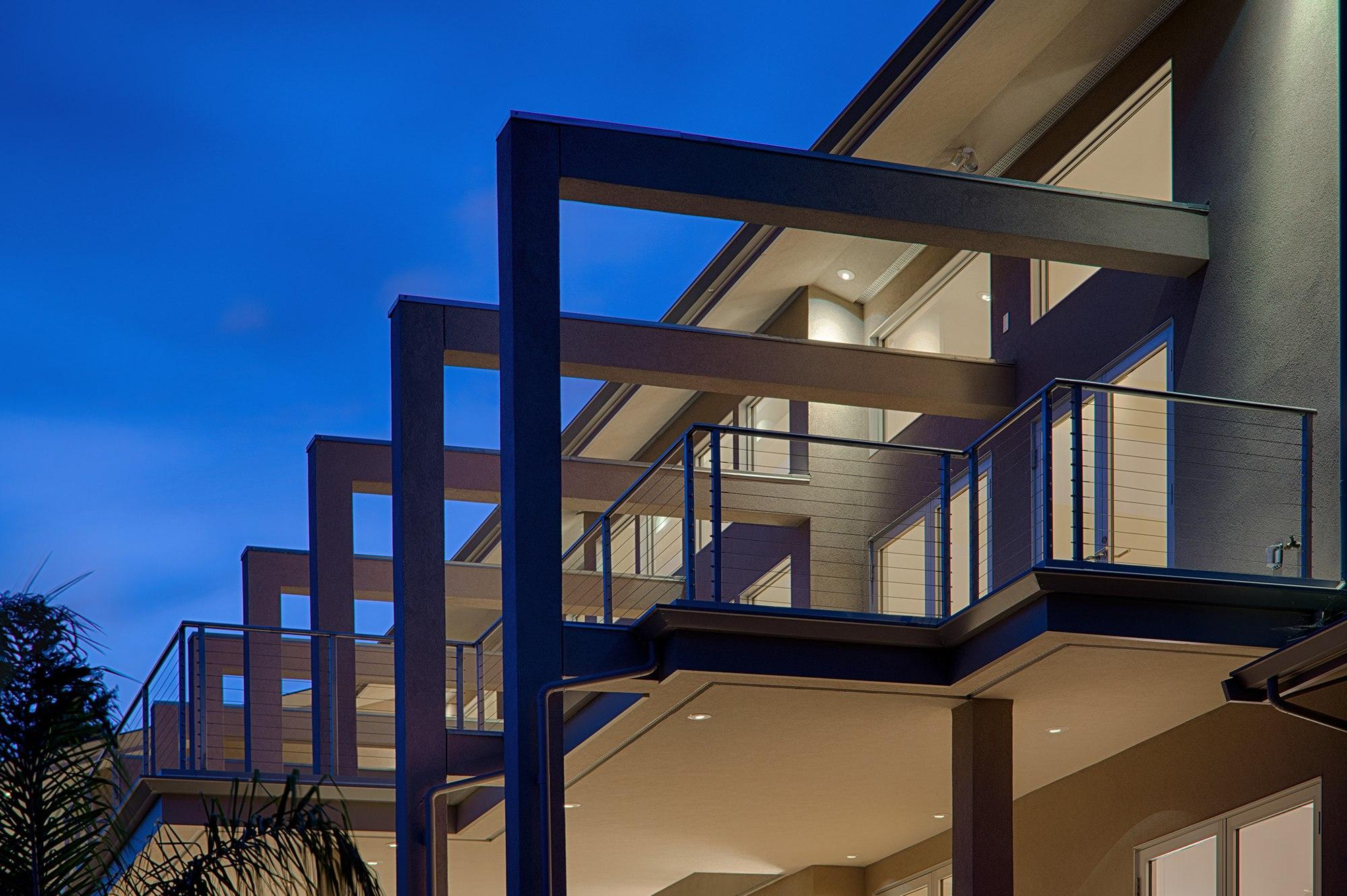 Custom Architecture on Napa Valley Estate