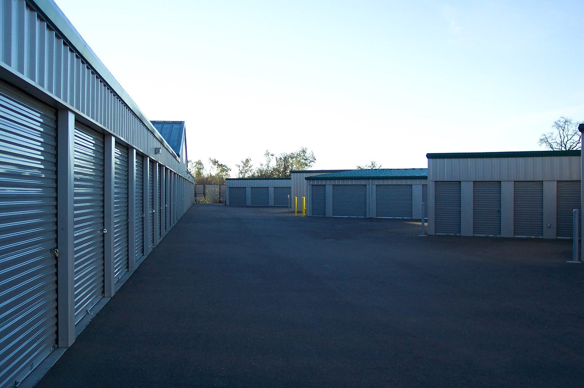 Metal building storage units