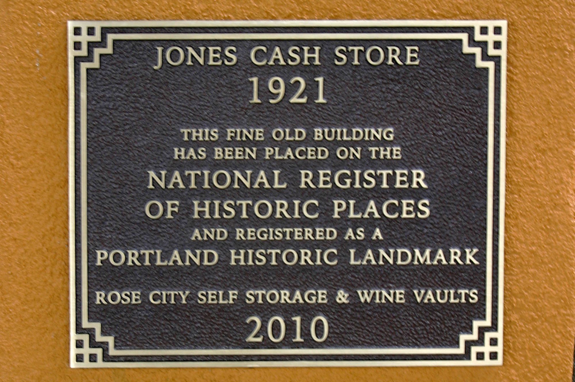 Historical Place Plaque