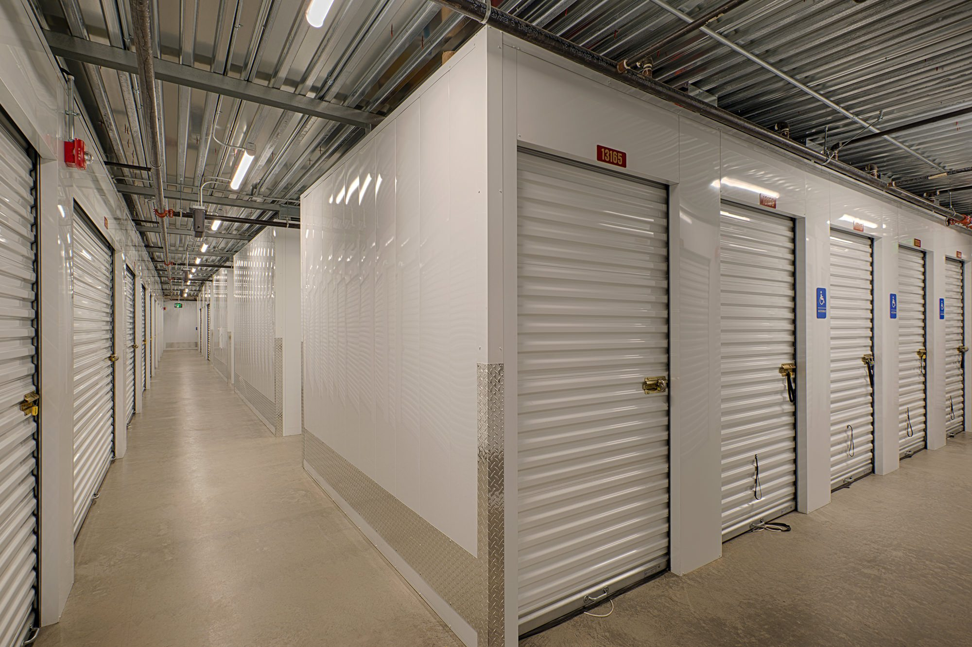 Indoor storage center