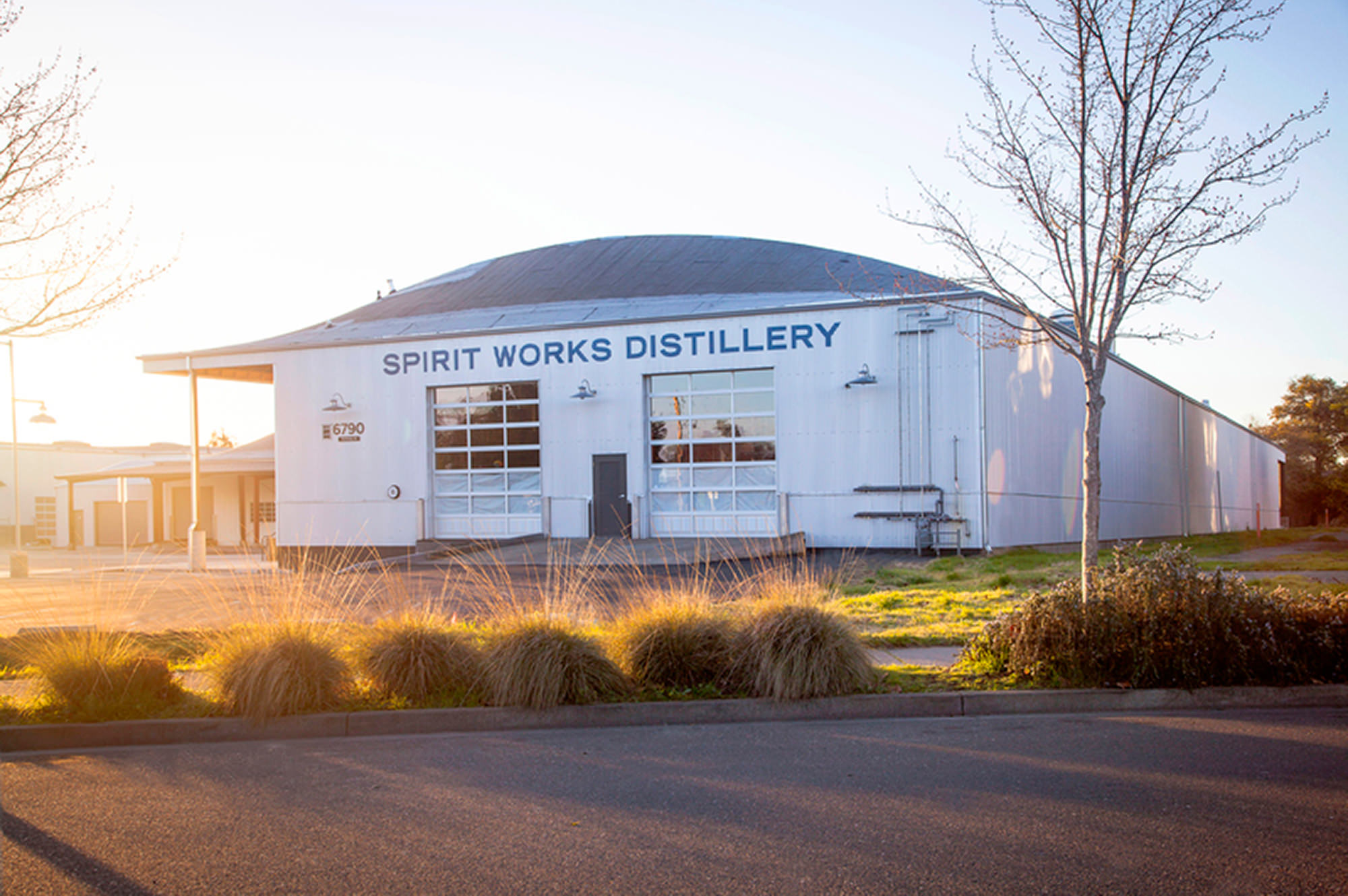 Spirit Works Distillery at The Barlow in Sebastopol