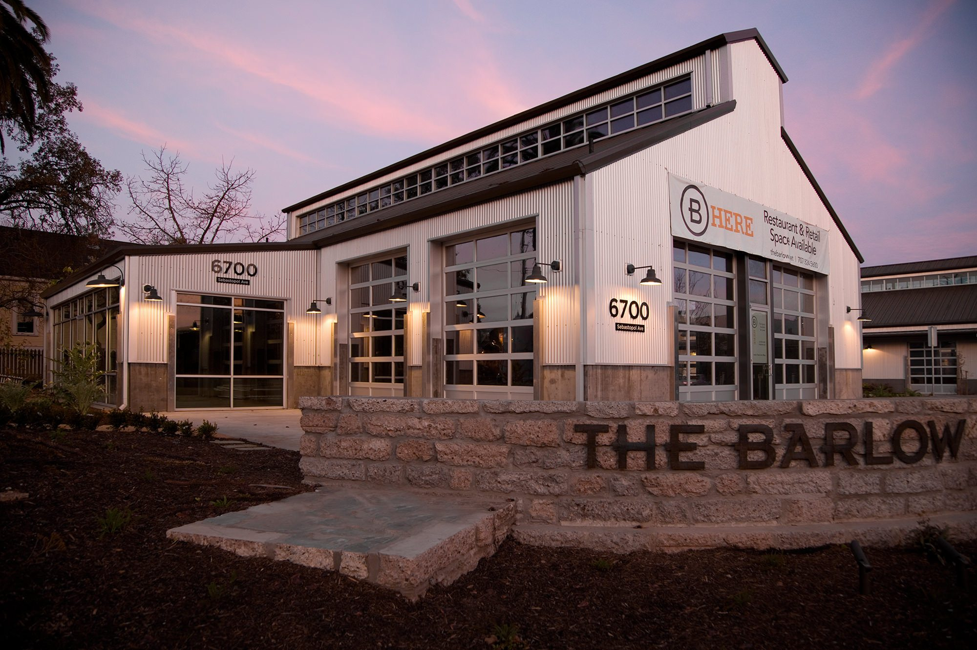 The Barlow - a General Contractor Project In Sebastopol