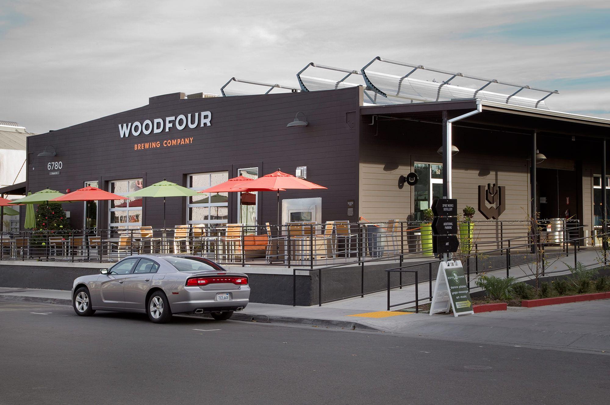 Woodfour Brewing Company in Sebastopol