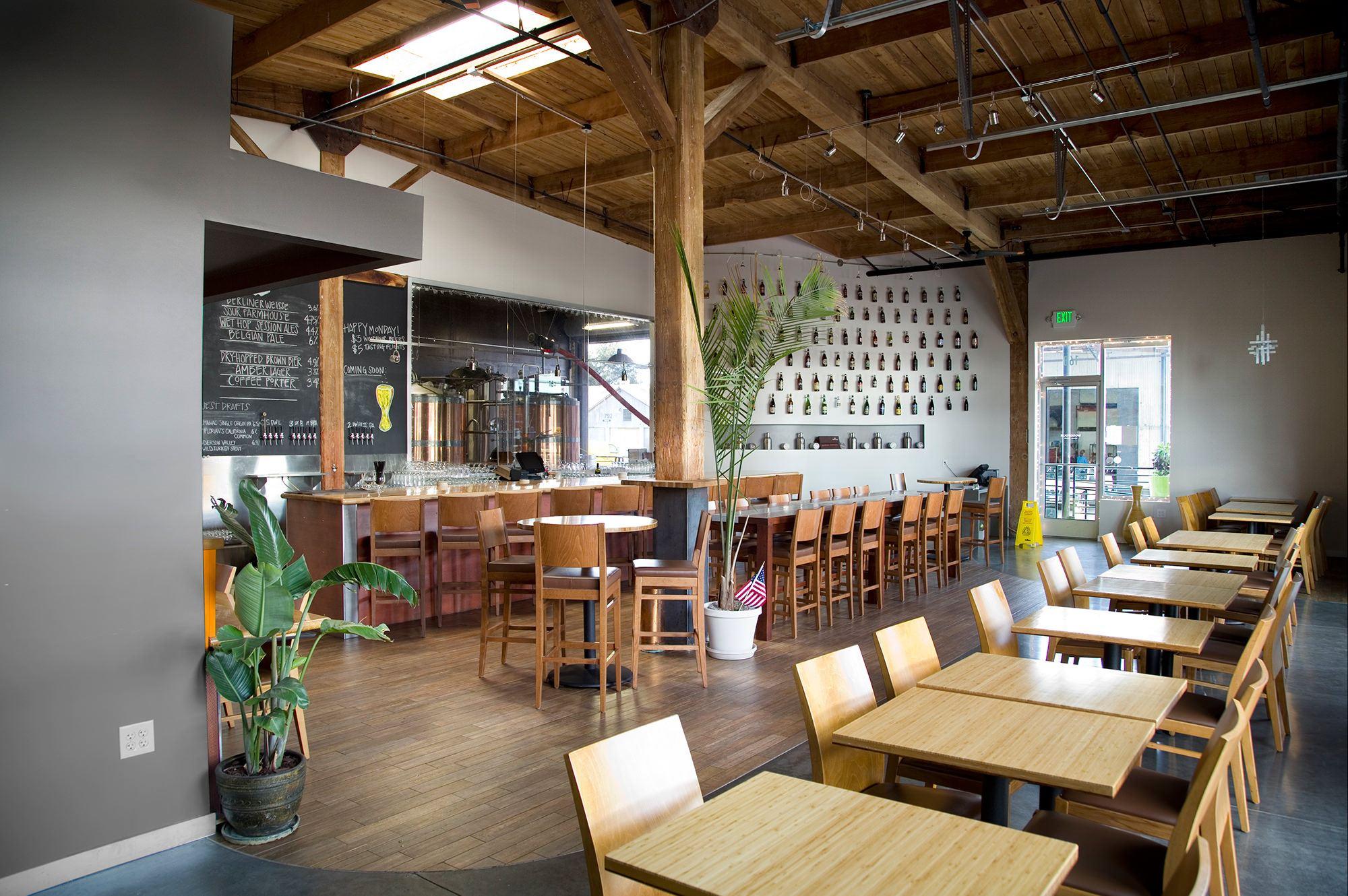 Brewery tasting room