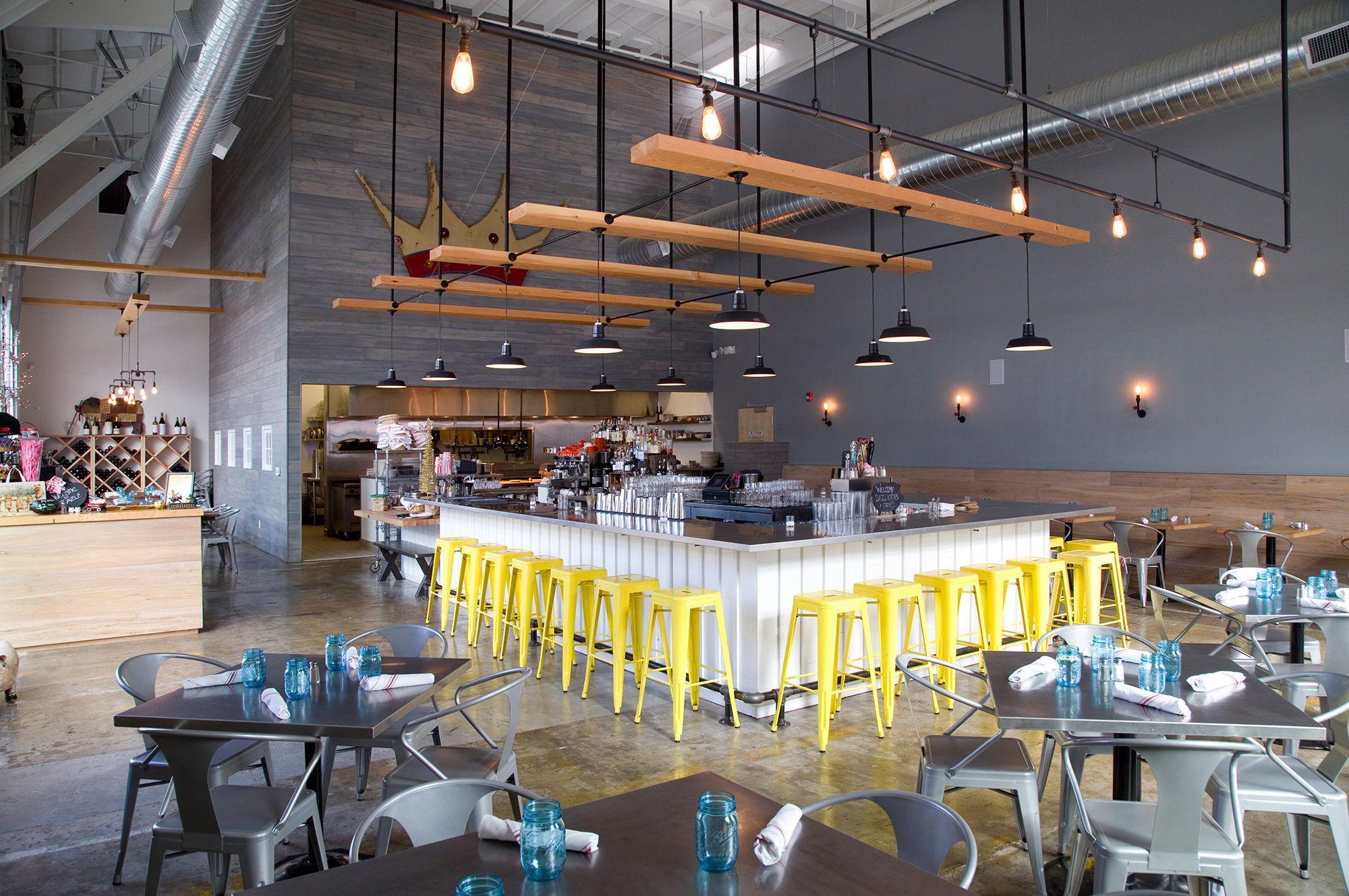 Inside of Zazu Restaurant in Sebastopol