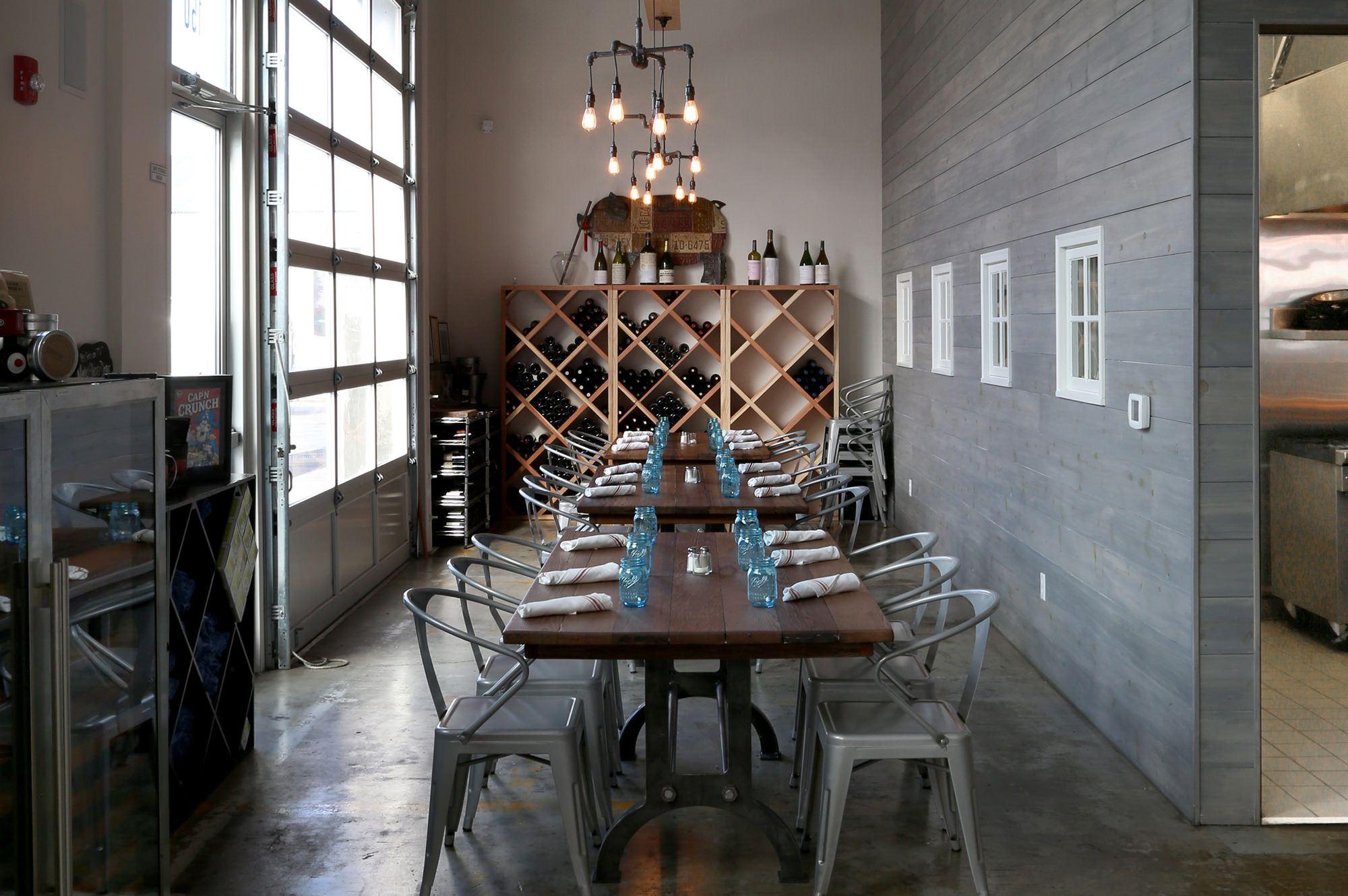 Inside of Zazu Restaurant in the Barlow