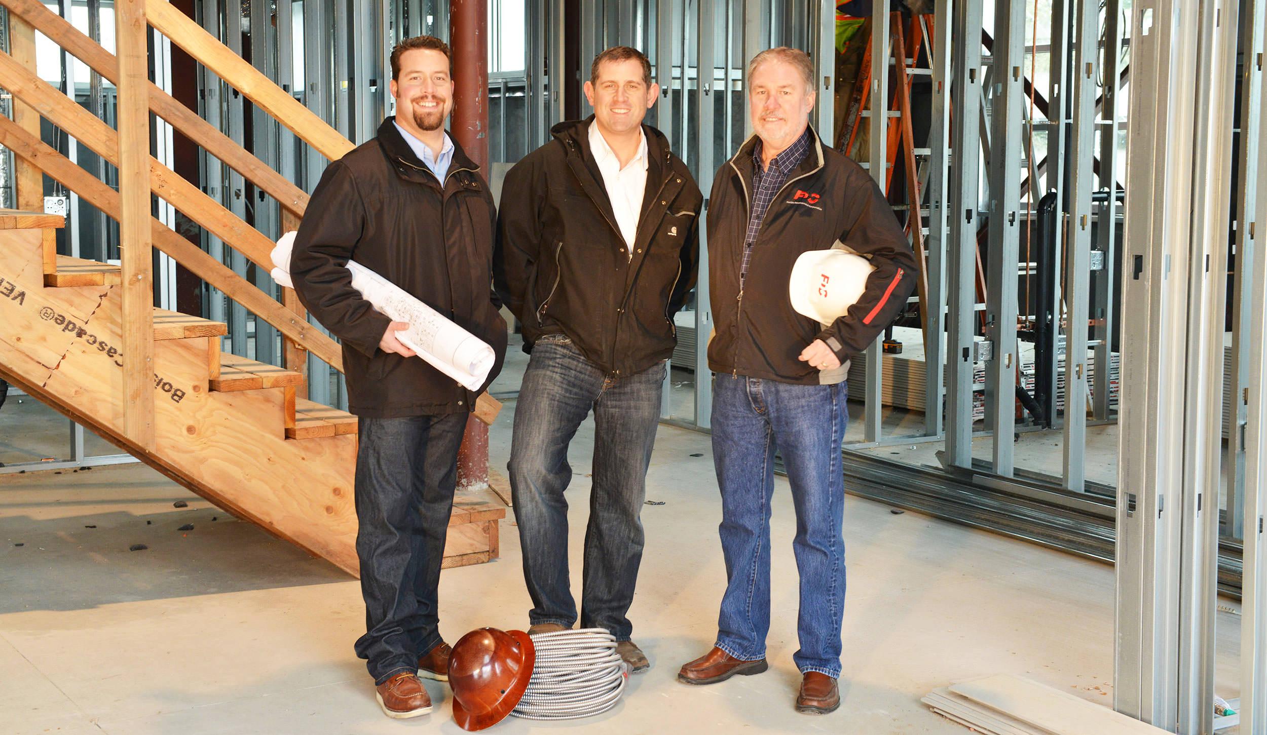 The FDC Team: Scott Kincade, Steve Kilgannon, and Dave Kincaid