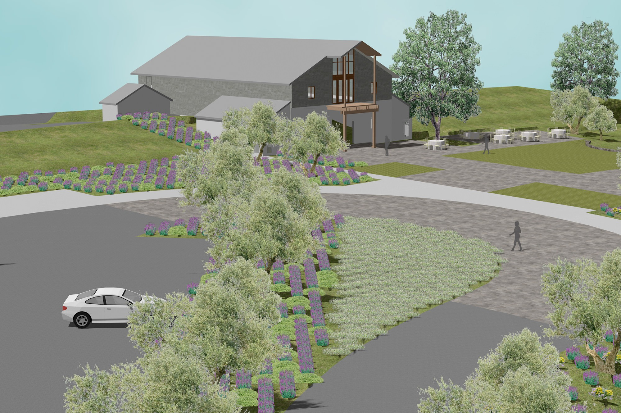 Outdoor Rendering of Murrietas Well in Livermore