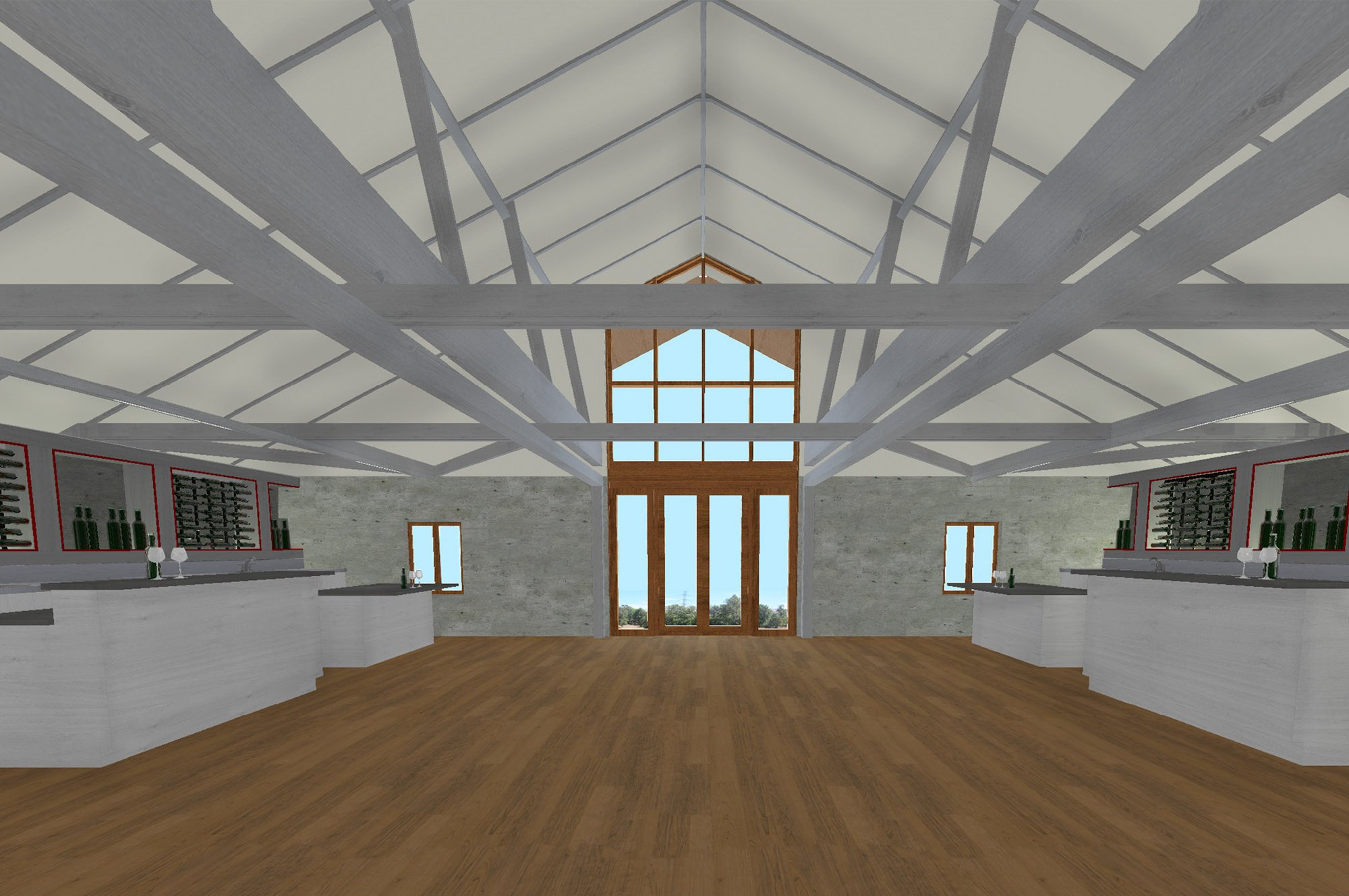 Indoor Rendering of Murrietas Well