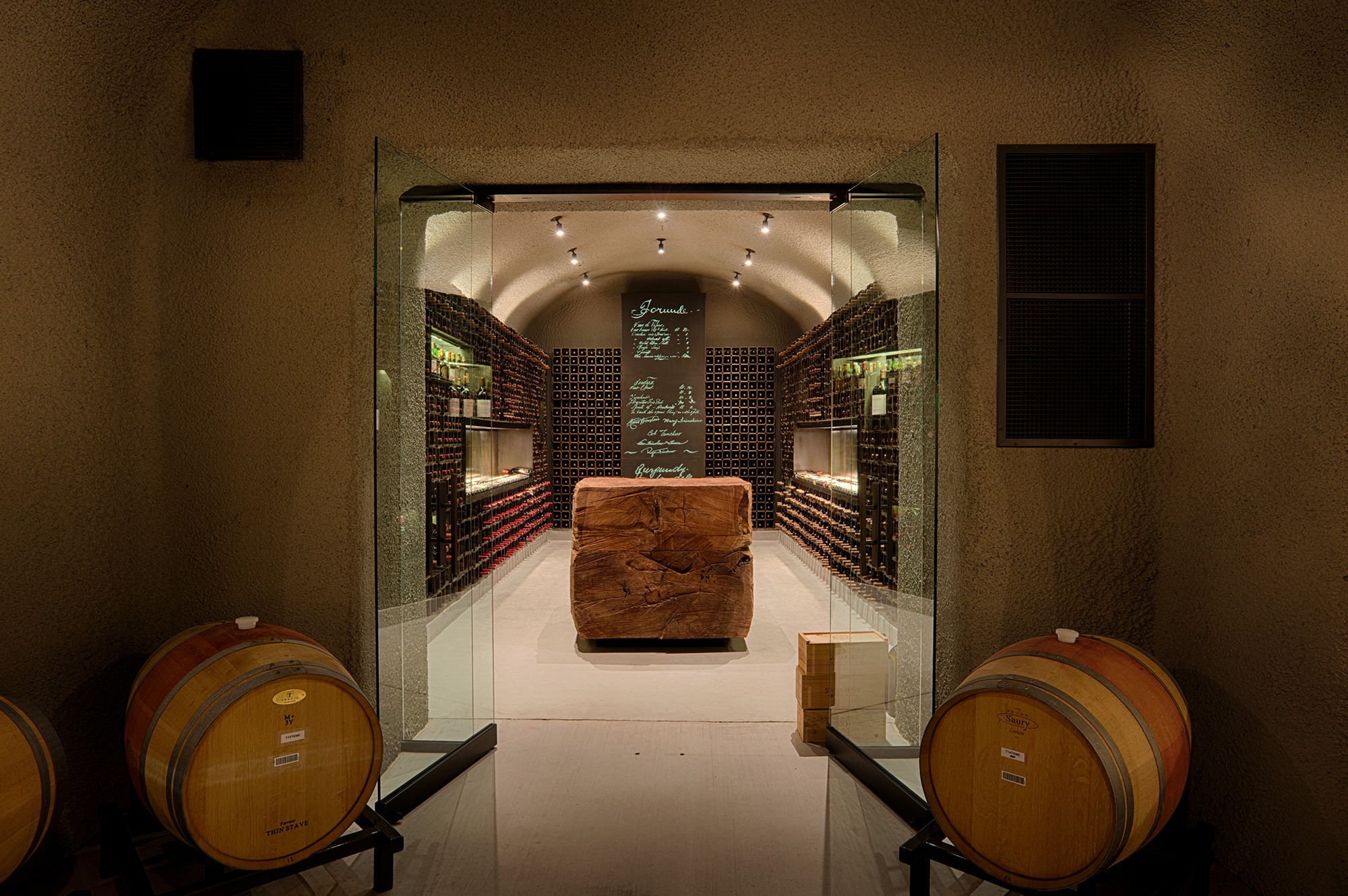 Trinchero Family Estate Wine Room