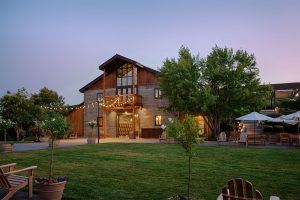 Exterior of Winery in Livermore CA