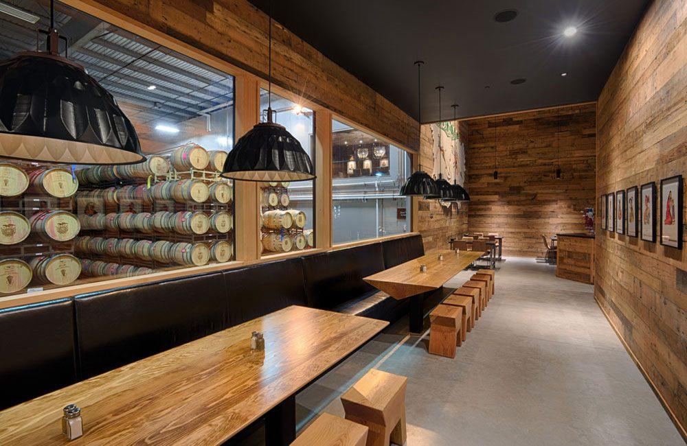 Barrel Tasting Room at Winery