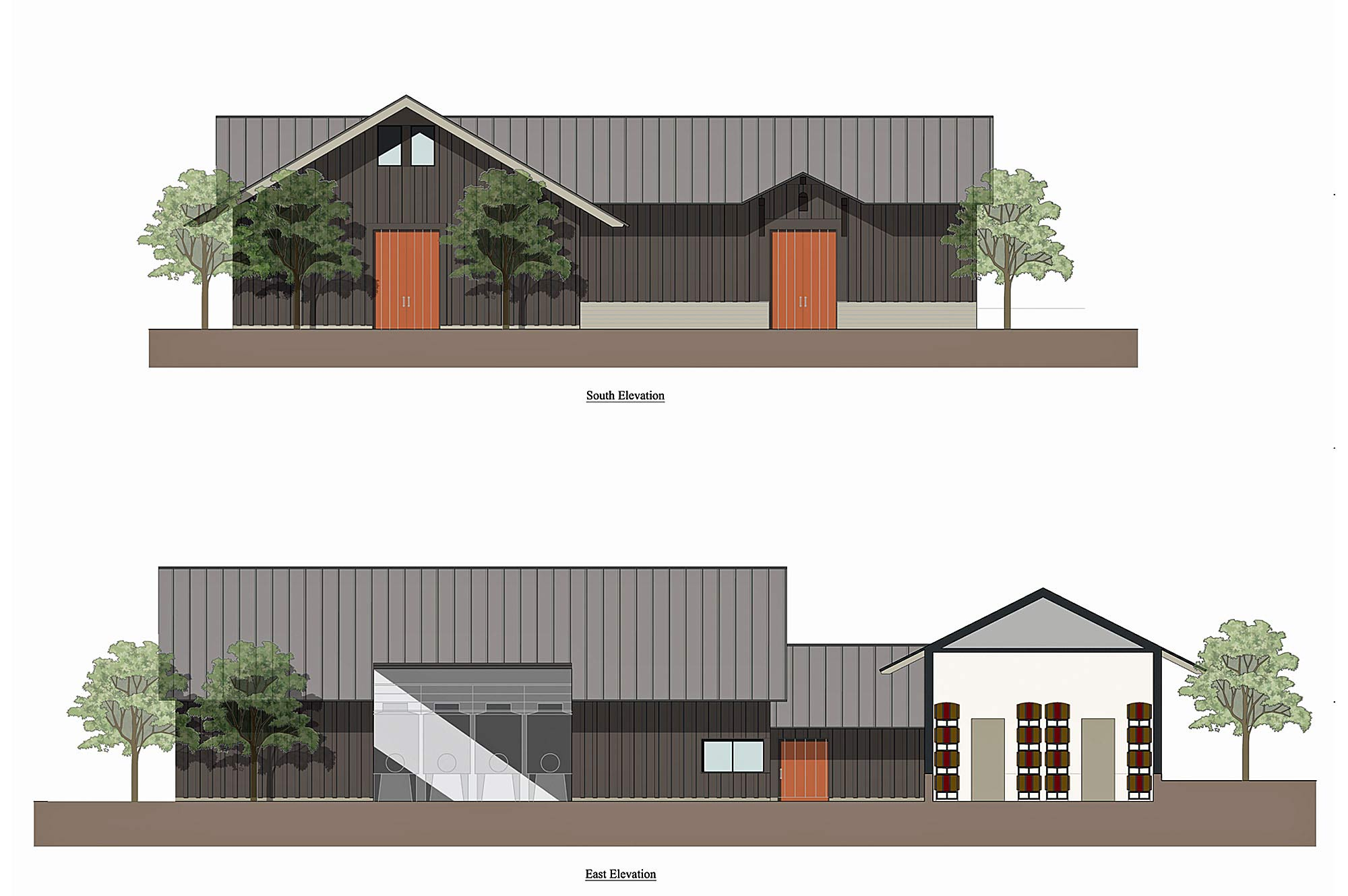 Pre engineered metal buildings facility development company dakota shy winery malvernweather