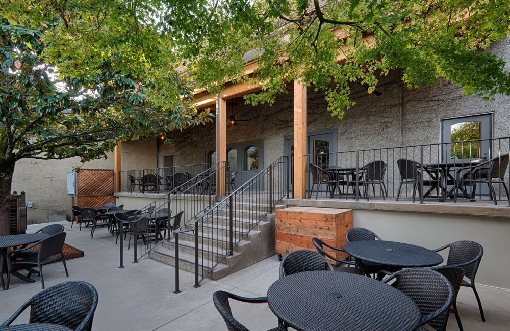 Winery Patio and Seating Area
