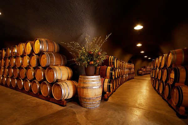 B Cellars Wine Cave in Oakville California